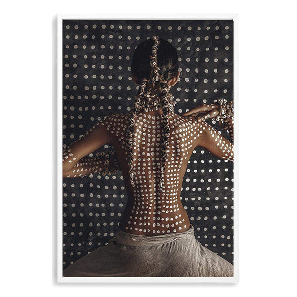 Tribal Woman Photographic Wall Art Print or Poster By The Paper Tree.