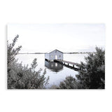 Boat House On The Bay  - The Paper Tree