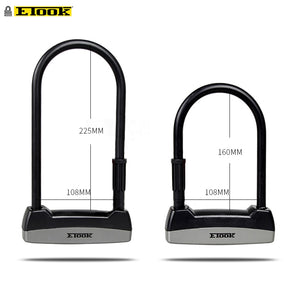 Etook U-lock Bike Lock - E Mobility Travel