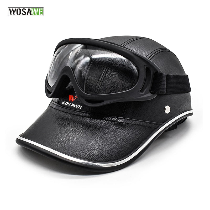 Electric Bike Helmet and Goggle - E Mobility Travel