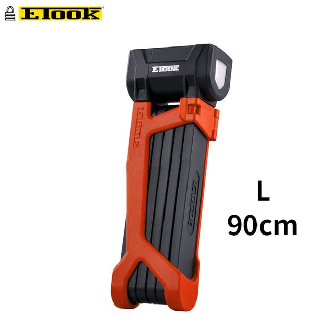 Etook Folding Bike Safety Lock For Motorbike Electric Bikes - E Mobility Travel