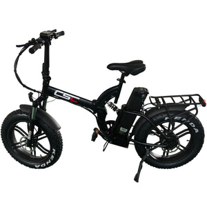 Snow Mountain Folding E-bike - E Mobility Travel