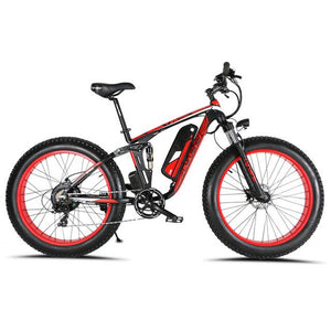Cyrusher Fat Tire Electric Mountain Bike - E Mobility Travel