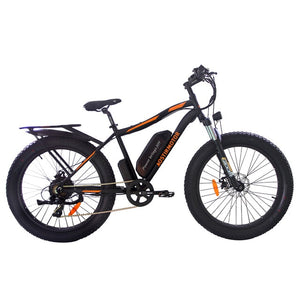 AOSTIRMOTOR  26 inch Beach Snow Electric Mountain Bike - E Mobility Travel
