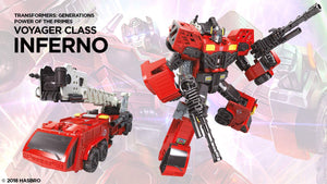 Inferno - Transformers Generations Power of the Primes Voyager Wave 3