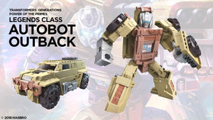 Autobot Outback - Transformers Power of the Primes Legends Wave 3