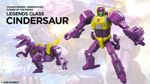 Cindersaur - Transformers Power of the Primes Legends Wave 3