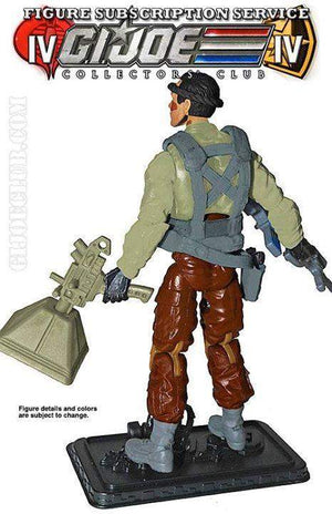 GI Joe Collector Club FSS 4.0 GI Joe Intervention Specialist: Bullhorn