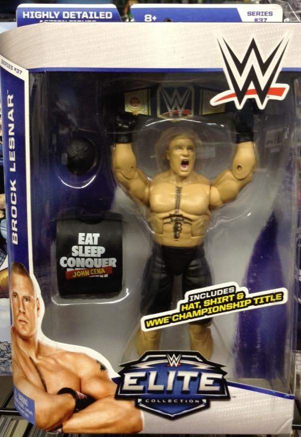 WWE Elite Series 37 Brock Lesnar