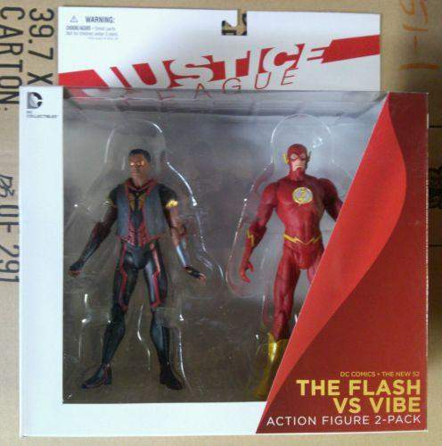 DC Comics NEW 52 Justice League Flash vs Vibe 2 Pack