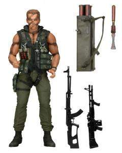 "Commando – 7"" Scale Action Figure – 30th Anniversary Ultimate John Matrix"