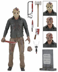 "Friday the 13th - 7"" Scale Action Figure - Ultimate Part 4 The Final Chapter Jason"