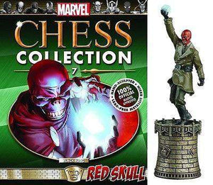 Eaglemoss Marvel Chess Figure Collector Magazine#7 Red Skull - Black King