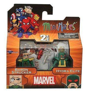 Marvel Minimates Series 54 - Baron Strucker and a Hydra Elite