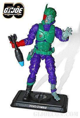 GI Joe Collector Club Zombie Initiative Toxo-Zombie - 2014 Convention