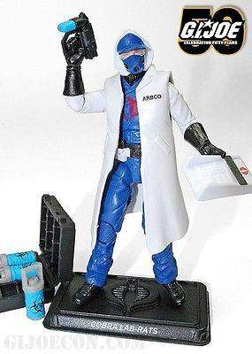 GI Joe Collector Club Zombie Initiative Cobra Lab Rats- 2014 Convention