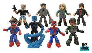 Marvel Minimates Series 56 – Spider-Man 2 Battle-Damaged Spider-Man and Electro