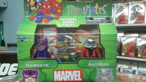 Marvel Minimates Best of Series 3 - Classic Hawkeye with Lab Coat Ant-Man