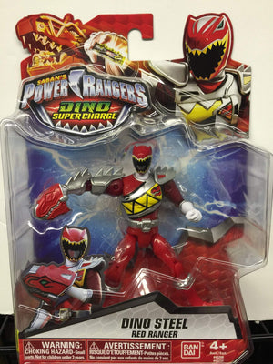 Dino Steel Red Ranger - Power Rangers Dino Super Charge 5In Action Figure