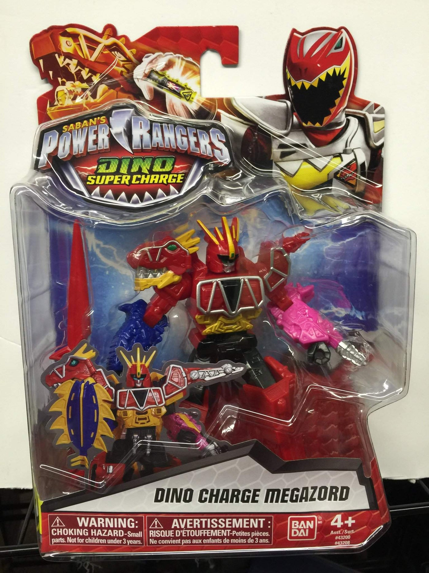 - Dino Charge Megazord - Power Rangers Dino Super Charge 5In Action