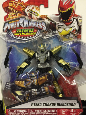 Ptera Charge Megazord - Power Rangers Dino Super Charge 5In Action Figure