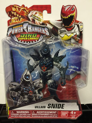 Villain Snide - Power Rangers Dino Super Charge 5In Action Figure