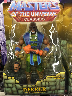 Dekker - Matty Collector He-Man Masters of the Universe Classics