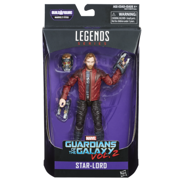 Star Lord - Guardians of the Galaxy Marvel Legends Wave 1