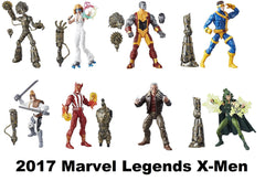 2017 Marvel Legends X-Men Set of 7