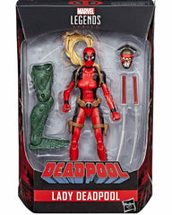Lady Deadpool - Deadpool Marvel Legends Wave 2 Case (Sauron BAF)