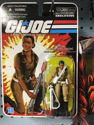 "GI Joe Collector Club FSS 4.0 Special Operations Figure Carla ""Doc"" Greer"