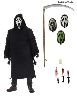 "Ghostface - 7"" Scale Action Figure – Ultimate Ghostface"