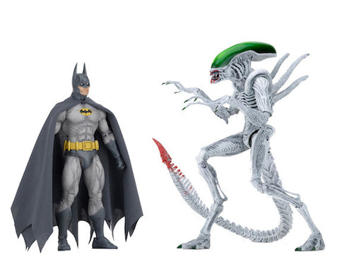 "Batman vs Alien - 7"" Scale Action Figure - 2 Pack"