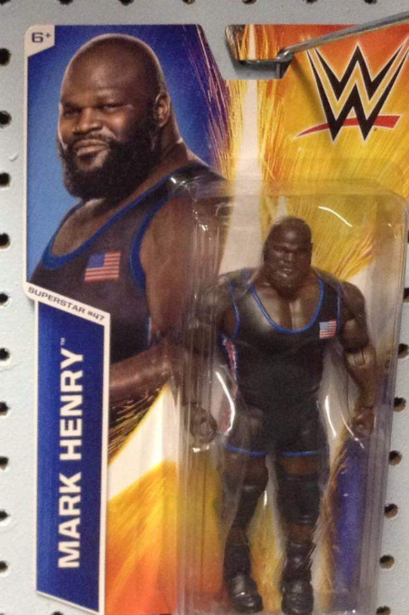 WWE Figure Series #52 Mark Henry (Superstar #47)
