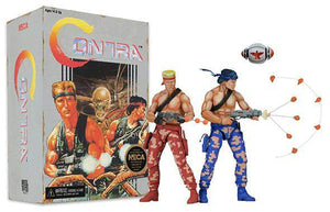 "Contra - 7"" Scale Action Figures - Bill and Lance 2-Pack (Video Game Appearance)"