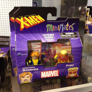 Marvel Minimates Series 60  Uncanny X-Men Banshee and Pyro