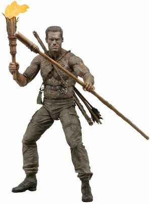 "Jungle Disguise Dutch - Predator - 7"" Scale Action Figure - 30th Anniversary"