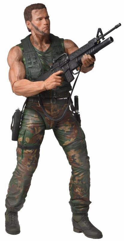 "Jungle Patrol Dutch - Predator - 7"" Scale Action Figure - 30th Anniversary"