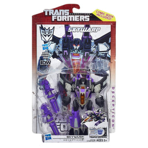 Transformers Generations Deluxe Figures Wave 9-Skywarp (Fall of Cybertron)