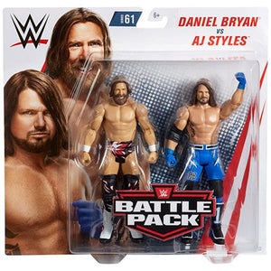 AJ Styles and Daniel Bryan - WWE Battle Pack Series 61