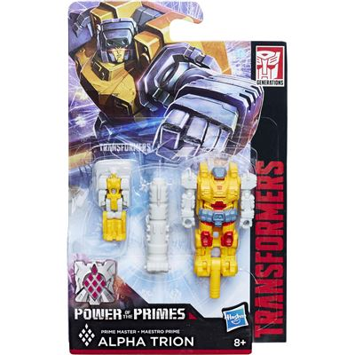 Alpha Trion in Landmine Armor - Transformers Generations Prime Masters Wave 2