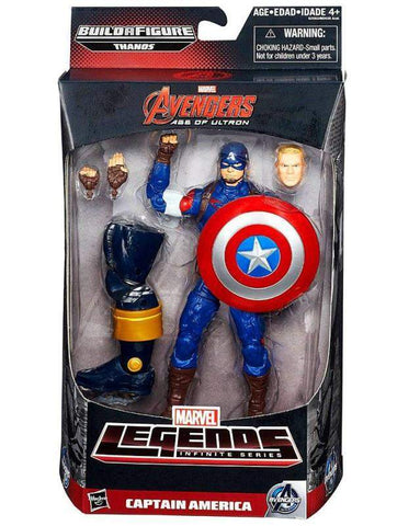 Captain America - Avengers Marvel Legends Wave 2 Thanos Build a Figure