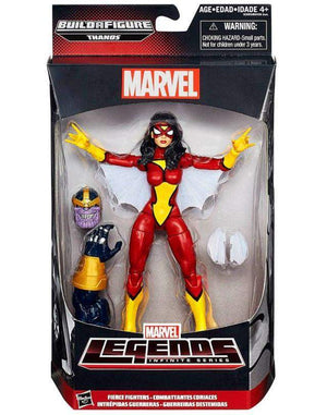 Fierce Fighters Spider Woman - Avengers Marvel Legends Wave 2 Thanos Build a Figure