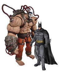 Batman Arkham City Batman vs Bane 2 Pack