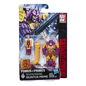 Quintus Prime with Bludgeon Armor - Transformers Generations Prime Masters Wave 3