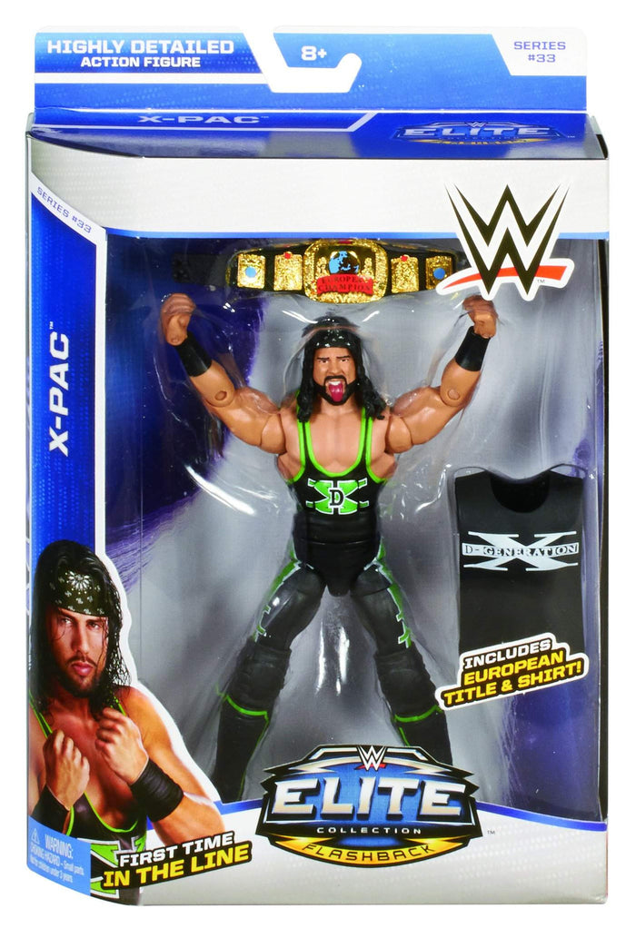WWE Elite Series 36 X-Pac