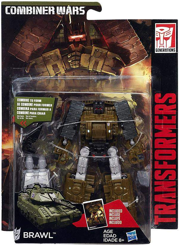Brawl Transformers Combiner Wars Deluxe Wave 5 Luke Cades Toy