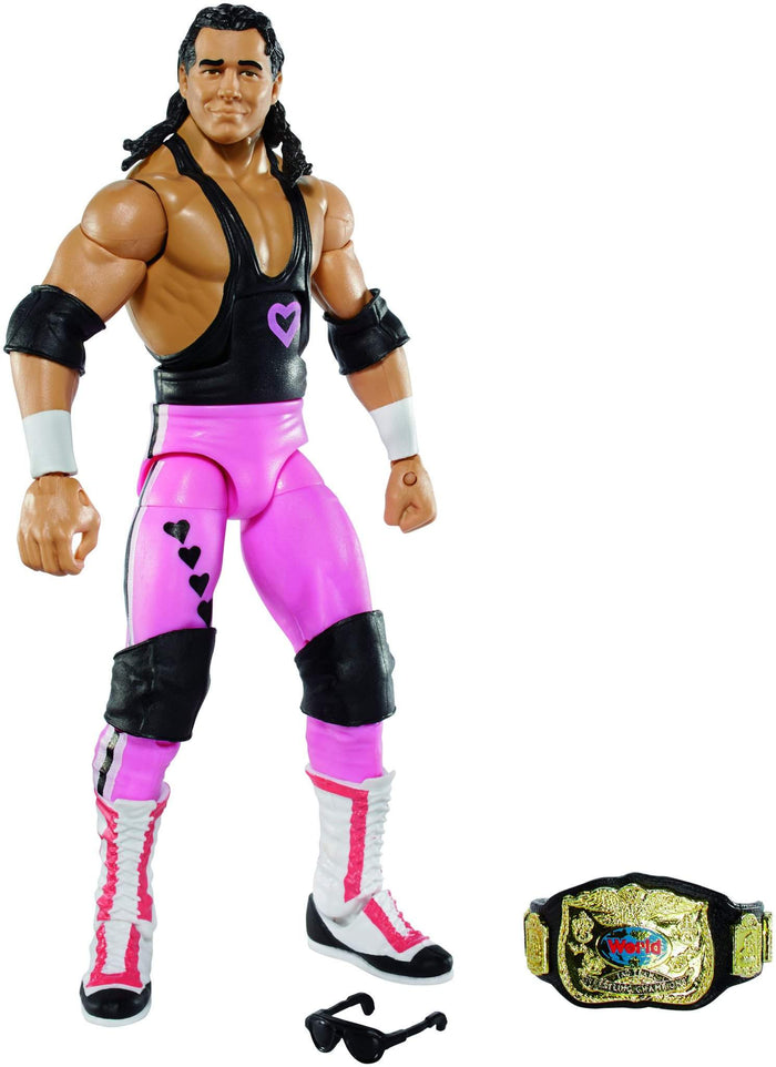 WWE Elite Series 43 Flashback Hart Foundation Bret Hart