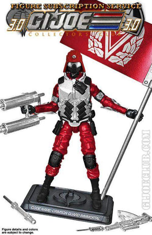GI Joe Figure Subscription Service 3.0 Crimson Guard Immortal