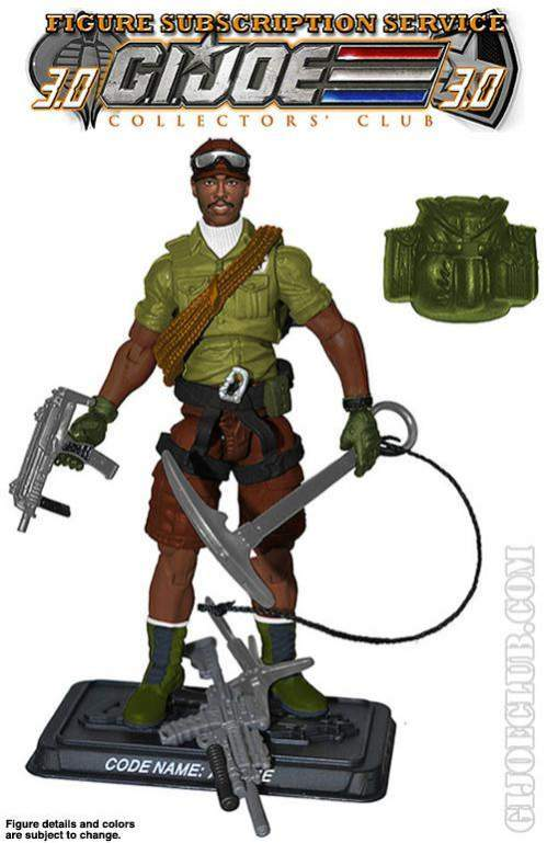 GI Joe Figure Subscription Service 3.0 Alpine